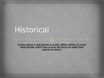 Movie Genre: Historical