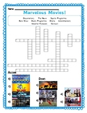 Movie Genres Crossword: Media Literacy Worksheet