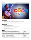 Movie Guide & Activities - Coco
