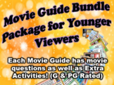 Movie Guide Bundle Package - For PG & G Rated Movies (35 Movie Guides)