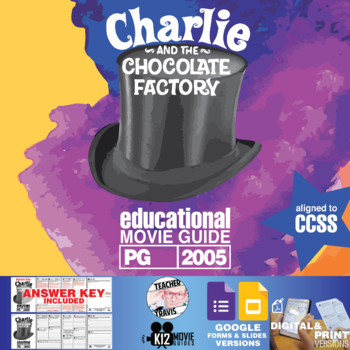 Charlie and the Chocolate Factory Movie Guide (PG – 2005)