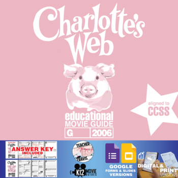 Charlotte's Web Movie Guide | Film Questions | Worksheet (G - 2006)