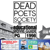 Dead Poets Society Movie Guide | Questions | Worksheet | G