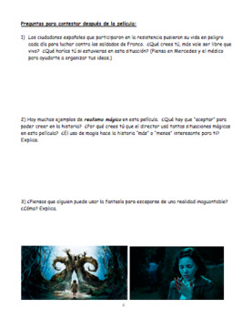 Movie Guide: El laberinto del fauno : Pan's Labyrinth in English AND Spanish