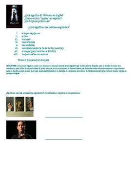 Movie Guide El orfanato The Orphanage Guillermo del Toro