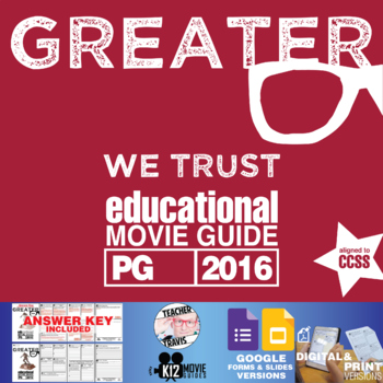 Greater Movie Guide (PG - 2016)