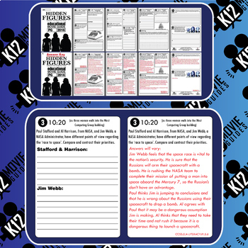 Hidden Figures Movie Guide | Questions | Worksheet (PG - 2016)