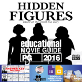 Hidden Figures Movie Guide | Questions | Worksheet | Google Forms (PG - 2016)
