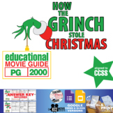 How the Grinch Stole Christmas Movie Guide | Questions | Worksheet (PG - 2000)