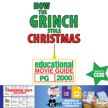 Movie Guide - How the Grinch Stole Christmas (PG - 2000)