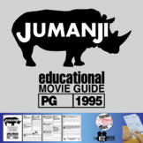 Jumanji Movie Guide | Questions | Worksheet (PG - 1995)