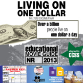 Living On One Dollar Movie Guide | Questions | Worksheet (2013)