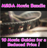 Movie Guide MEGA Bundle  *10 Movie Guides for $10.99!*