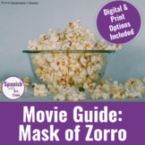 """Movie Guide: """"Mask of Zorro"""" with DIGITAL submission options!"""