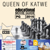 Queen of Katwe Movie Guide   Questions   Worksheet (PG - 2016)