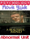 Movie Guide Questions for A Beautiful Mind psychology
