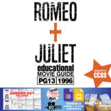 Romeo + Juliet Movie Guide | Questions | Worksheet (PG13 - 1996)