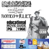 Romeo and Juliet Movie Guide   Questions   Worksheet (PG - 1968)