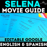 Movie Guide: Selena - Spanish class (English & Spanish versions w/ Key)