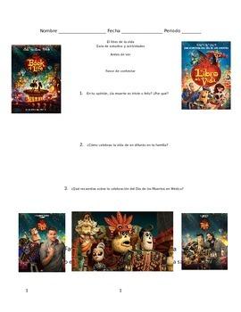 Movie Guide: The Book of Life | El libro de la vida SPANISH & English Questions