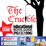 The Crucible Movie Guide   Questions   Worksheet (PG13 - 1996)