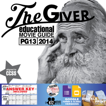 The Giver Movie Guide (PG13 - 2014)