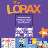 The Lorax Movie Guide | Questions | Worksheet (PG - 2012)