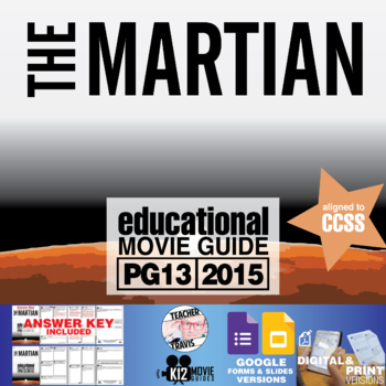 The Martian Movie Guide (PG13 - 2015)