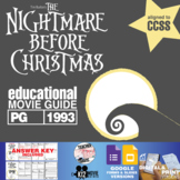 The Nightmare Before Christmas Movie Guide   Questions   Worksheet (PG - 1993)