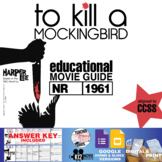 To Kill a Mockingbird Movie Guide | Questions | Worksheet (1962)