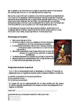 Movie Guide: Yo la peor de Todas   Sor Juana Inés de la Cruz