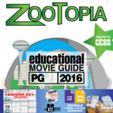 Zootopia Movie Guide   Questions   Worksheet (PG – 2016)