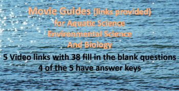 Movie Guide  for 5 Videos - Aquatic Science
