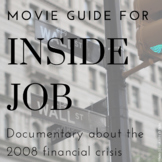 """Movie Guide for """"Inside Job"""" documentary about 2008 financ"""