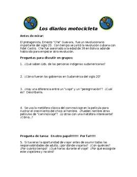 Movie Guide for Los Diarios de Motocicleta (The Motorcycle Diaries)