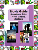 Movie Guide: Secretariat, Blind Side, Zootopia or Miracle (Cause/Effect)