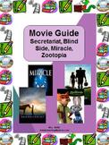 Movie Guide: Secretariat, Blind Side, Zootopia or Miracle
