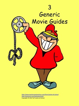 Movie Guides - 3 Generic Study Guides