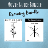 Movie Guides Growing Bundle, The Hunger Games, Romeo and Juliet