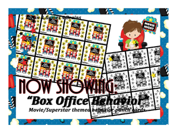 Movie - Hollywood themed Box Office behavior punch card