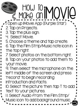 Movie Making Kit: Research to Reflection