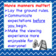 MOVIE MANNERS Worksheet:  For Chorus and All Other Classes