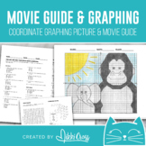 Movie Math Coordinate Graphing Picture & Movie Guide   The