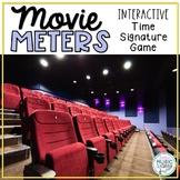 Movie Meters! Interactive Time Signature Game, Meter in 2, 3, & 4