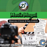 Movie Mogul - Mean, Median & Variation - Project - Distance Learning Compatible