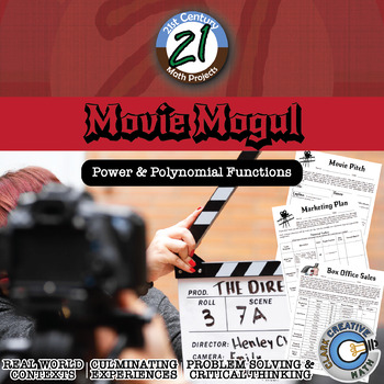 Movie Mogul: Producer -- Power Function & Linear System Project