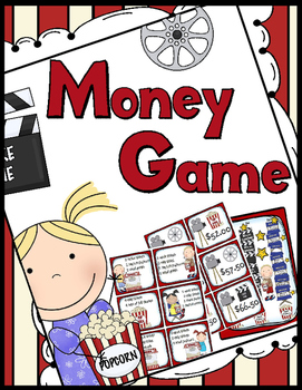 Money Game: 30 Task Cards!