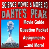 Movie & More : DANTE'S PEAK (question packet / assignments / key / no prep)
