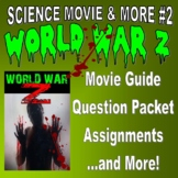 Movie & More : WORLD WAR Z (question pack / articles / webquest / key / no prep)