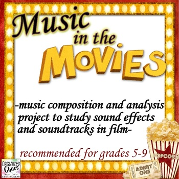 Movie Music Composition Project